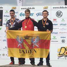 Eilmeldung von der Deutschen Meisterschaft – Bronze-Medaille für Leon Bell