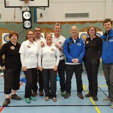 Kreismeisterschaft Bogen Halle 2017 – Treppchenplätze Dietzenbacher Bogenschützen