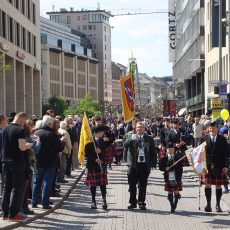 Tell-Schützen beim 60. Deutschen Schützentag