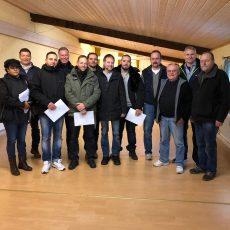 Erfolgreicher Abschluss der Waffensachkundeausbildung in Dietzenbach Schützen lernen den verantwortungsvollen Umgang mit Schusswaffen