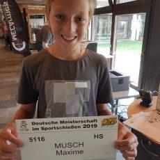 Tell-Schützen aus Dietzenbach auf den Deutschen Meisterschaften